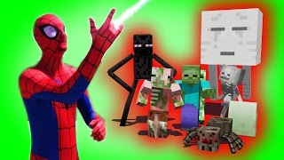 Monster School: Superhero Spiderman | Hulk | Star Wars Boys vs. Girls | (Monster School Compilation)