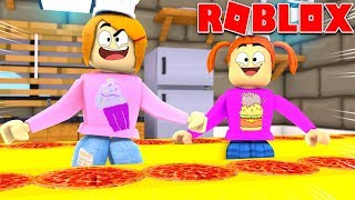 Roblox Pizza Factory Tycoon With Molly And Daisy!