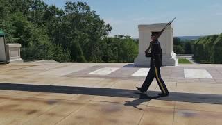 Unknown Soldier Guard Calls Out Parents.