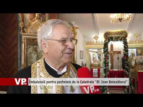 """Îmbulzeală pentru pachetele de la Catedrala """"Sf. Ioan Botezătorul"""""""