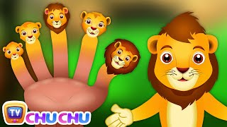 Finger Family Lion | ChuChu TV Animal Finger Family Songs & Nursery Rhymes For Children