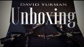 David Yurman Unboxing
