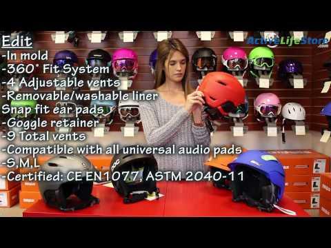 Top 5 Best Snowboard/Ski Helmets Video Review