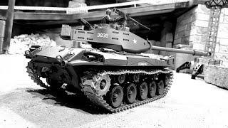Танки в городе ... Обзор американского танка M41A3 Walker Bulldog