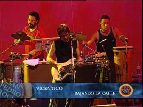 Vicentico video Bajando la calle - San Pedro Rock II / Argentina 2004