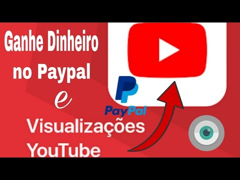 Ganhe dinheiro no PAYPAL e visualizações nos vídeos do YouTube - VRE