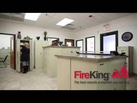 FireKing Vertical File Cabinets, Fireproof Document Storage & Security