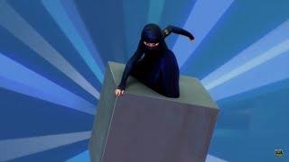 Burka Avenger VS The Giant Slingshot Tank  AntiCult  W/ English Subtitles
