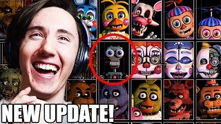 "20 ANIMATRONICS REVEALED! || ""ULTIMATE"" CUSTOM NIGHT FOR FNAF 6 IS COMING"