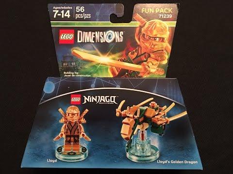 Lego Dimensions Lloyds Golden Dragon Build Instructions Lloyd Fun