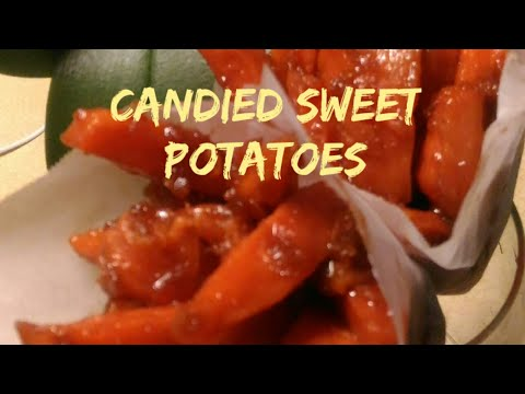 Candied Sweet Potatoes/ Kamote Fries / Kamote Que