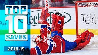 Top 10 Saves of the 2018-19 Regular Season