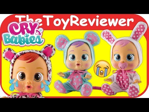Cry Babies Baby Dolls Coney Lea Lala Tears Pacifier Cute IMC Unboxing Toy Review by TheToyReviewer