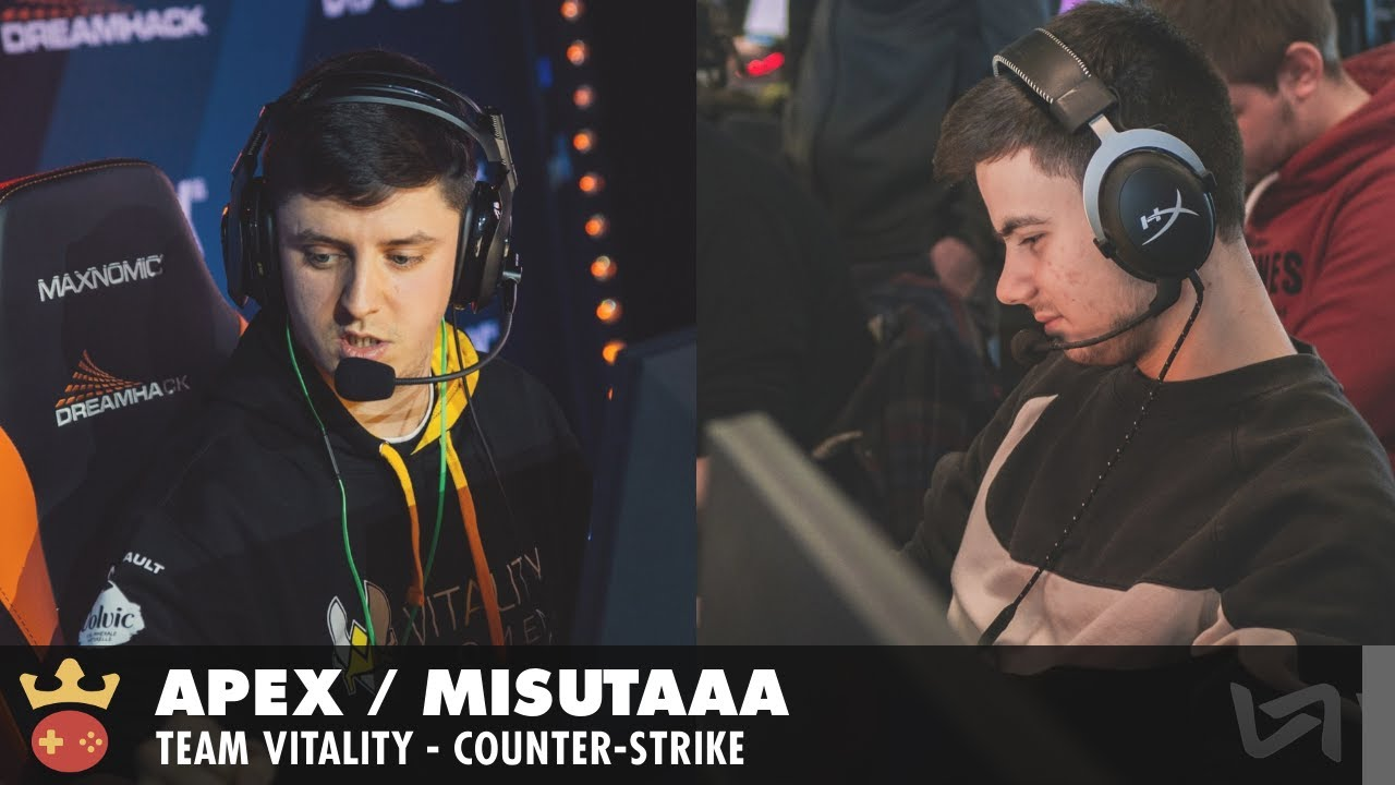 Video of Interview with apeX & misutaaa from Vitality at IEM Cologne 2021
