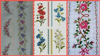 Beautiful Cross Stitch Border Designs