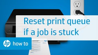 Hp Print Job Stuck In Queue Automated Tool To Fix Hp Printer Error