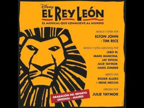 El rey león -  Yo voy a ser rey león