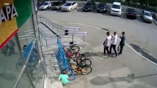 Внимание! Розыск! 02.07.2016 г., г. Асбест, кража велосипедов возле магазина «Райт»