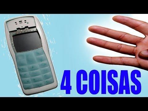 4 Coisas que você pode reutilizar de um Celular Velho NOKIA 1100