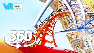 Roller Coaster in Seoul Land- 360° VR video (5K)