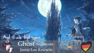 Nightcore - Ghost  「Jamie-Lee Kriewitz」 [Eurovision 2016 Germany]