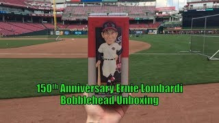 150th Anniversary Ernie Lombardi Bobblehead Unboxing