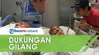 Ekki Soekarno Terbaring Lemah, Gilang Ramadhan Beri Dukungan: Bangun Bro! Kita Nge-band Lagi