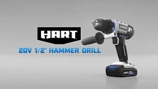 """HART 20V 1/2"""" Hammer Drill"""