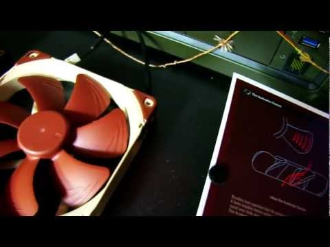 Noctua NF A15 PWM 140mm Heatsink Optimized Cooling Fan Unboxing & First Look Linus Tech Tips