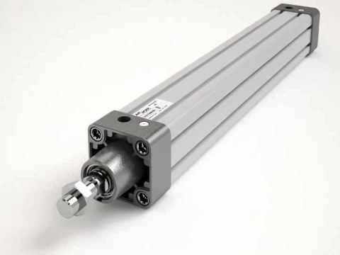 Animazione cilindro pneumatico