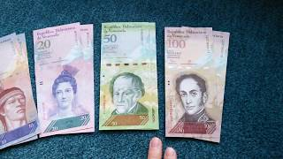 #Currency special part 64: Venezuelan Bolivares / 2