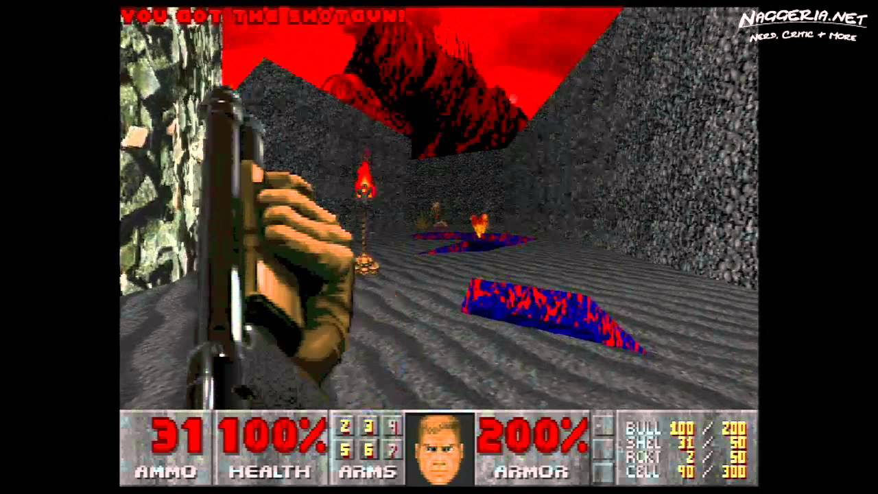 "Doom (E3M2 ""Slough of Despair"") Walkthrough – Ultra-Violence"