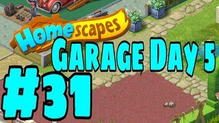 HOMESCAPES Gameplay Story Walkthrough Part #31   Garage Area Day 5 Ending