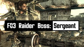 FO3 Overhaul Project Raider Boss Sergeant