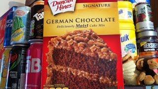 how to make a box german chocolate cake moist