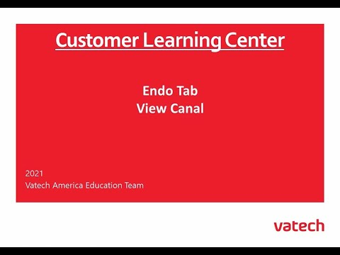 Endo Tab View Canal