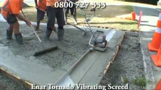 Бензиновая виброрейка Tornado (Привод) от компании ENAR - видео