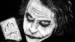 Drawing Joker With Salt