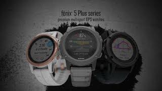 Garmin fenix 5 Plus Sapphire GPS Watch-video