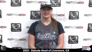 2022 Dakoda Hood First Base Softball Skills Video - Eastbay Fastpitch