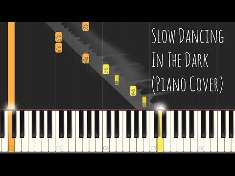 Joji - SLOW DANCING IN THE DARK (Piano Cover) Synthesia