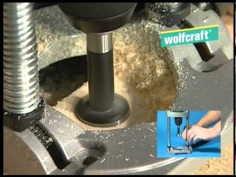 Soporte de columna móvil para taladros Wolfcraft 4522000