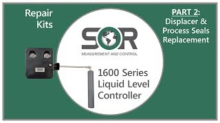 1600 Series Repair Kits - Displacer & Process Seals Replacement