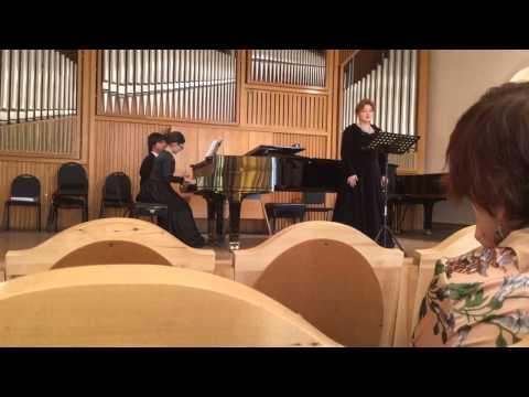 Mussorgsy - Songs and Dances of the Death  Kamilla Bendersky (piano)  Ludmila Borisova (soprano)