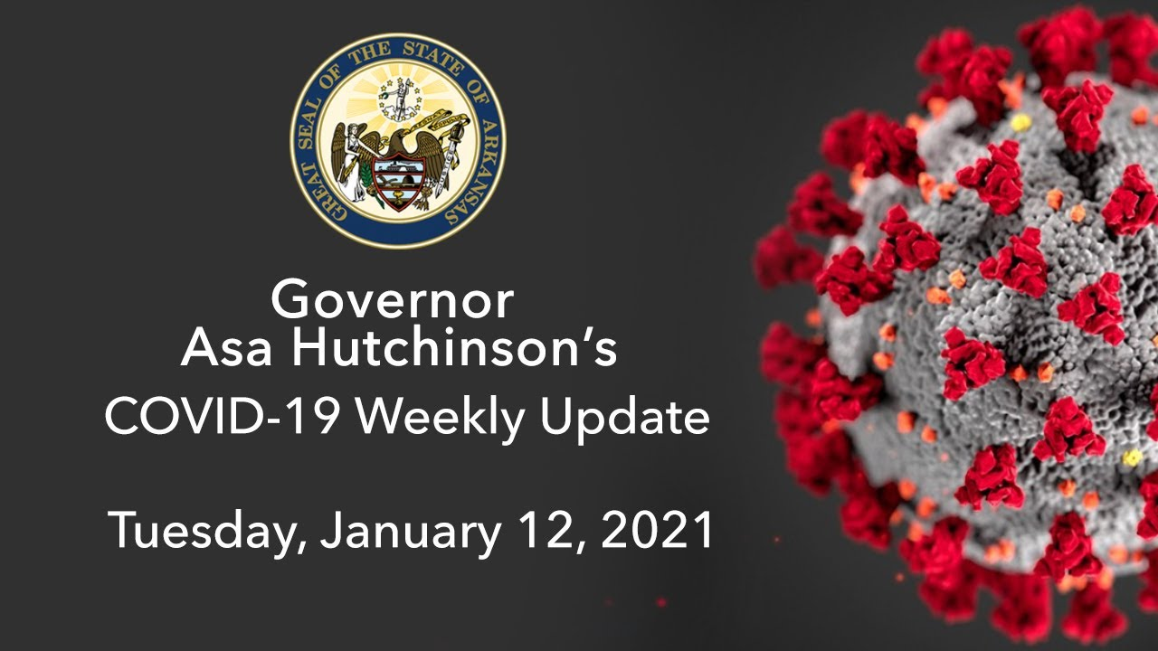 LIVE: Governor Hutchinson Provides Weekly COVID-19 Update (01.12.21)