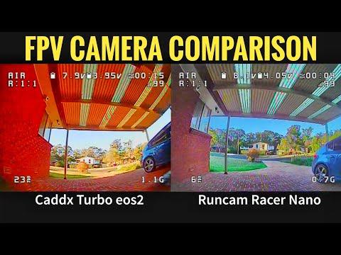 Runcam Racer nano vs Caddx eos2