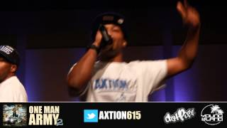 AXTION | HipHop in the ville performance 2012 | @axtion615