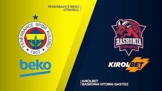 Fenerbahce Beko Istanbul - KIROLBET Baskonia Vitoria-Gasteiz Highlights | EuroLeague, RS Round 3