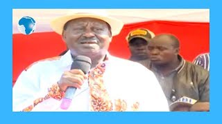 Nobody can stop the BBI - Raila Odinga