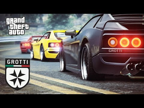 GTA 5 Grotti Sports Classics Collection Showcase (Ferrari Classics)